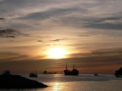 Sunset at Port Louis, Grenada