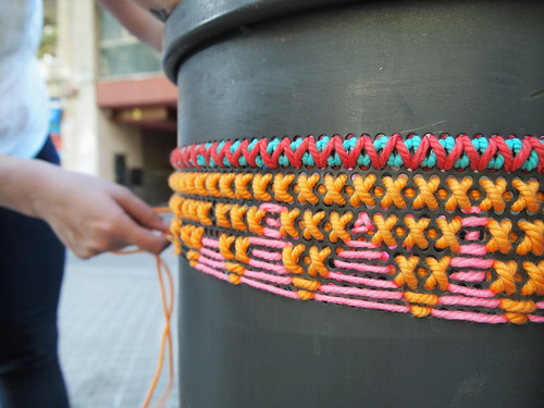 Embroidery guerrilla