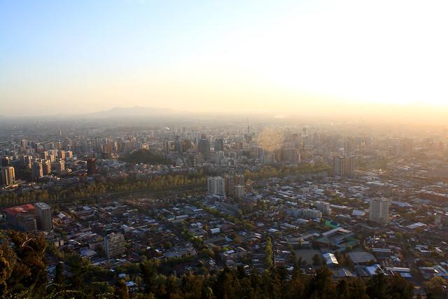 Funicular - Santiago, Chile