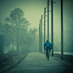 Tour de Force (PetterPhoto) Tags: blue bike fog champselysees nikon gray ve biking tourdefrance nikkor 18200 kristiansand thorhushovd tveit d300s dnnestad petterphoto