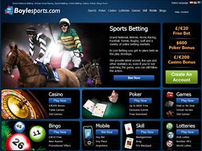 Boylesports Sportsbook Home