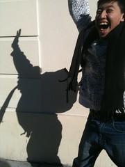 Playing with shadows (knightsmedia) Tags: li wei jia