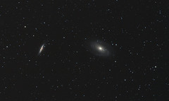 M82 with M81 (Fabiuzzo77) Tags: field night known is or cluster ngc wide natura canes campo fotografia m3 largo astronomia constellation astrophoto telescopio globular 5272 galassie venatici astronomica also Astrometrydotnet:status=solved Astrometrydotnet:version=14400 Astrometrydotnet:id=alpha20110498018663