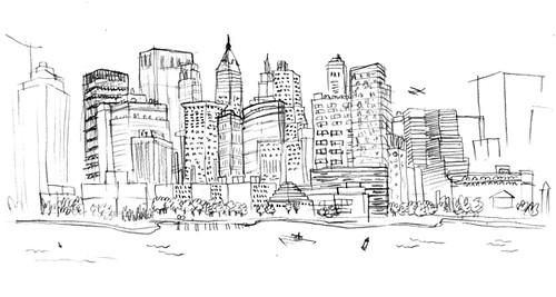 skyline-sketch
