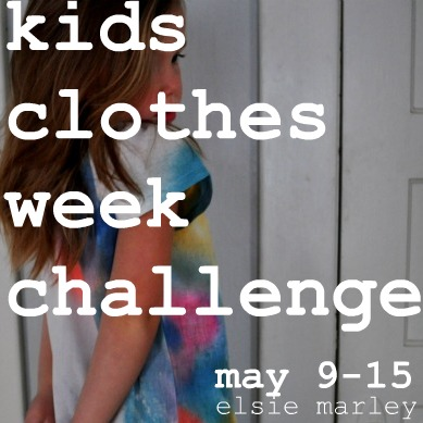 kids clothes week challenge spring 2011
