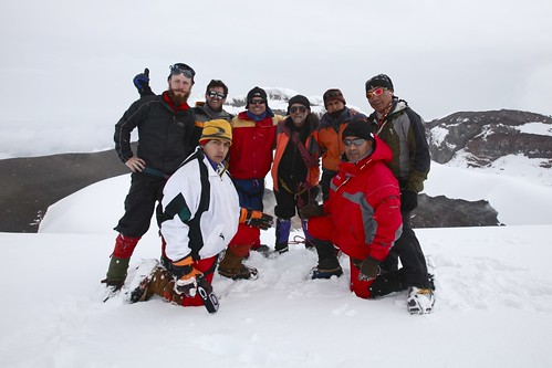 The team at the summit.