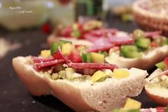 baguettes 12 (peter pirker) Tags: food canon austria sterreich essen krnten carinthia pizza baguette selfmade villach flickraward peterfoto eos550d