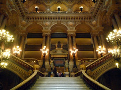Garnier's Paris Opéra, Grand Stair, Looking Up