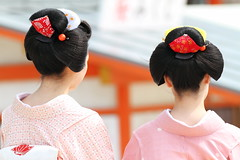 Nihongami   ---Traditional Hair Style in Japan--- (Teruhide Tomori) Tags: travel girl beautiful japan dance kyoto traditional maiko   kimono