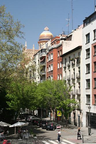 street scene near Palace