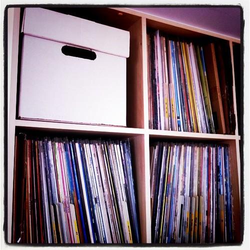 10inch vinyl's box