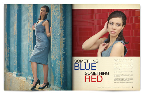 Design Project: LOOK Magazine Spread - pgs. 8 & 9