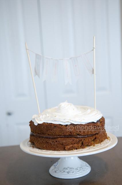 April 17th-  Smore's Cake