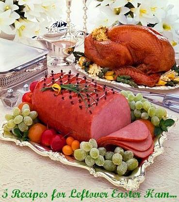 5 Recipes for Leftover Easter Ham...