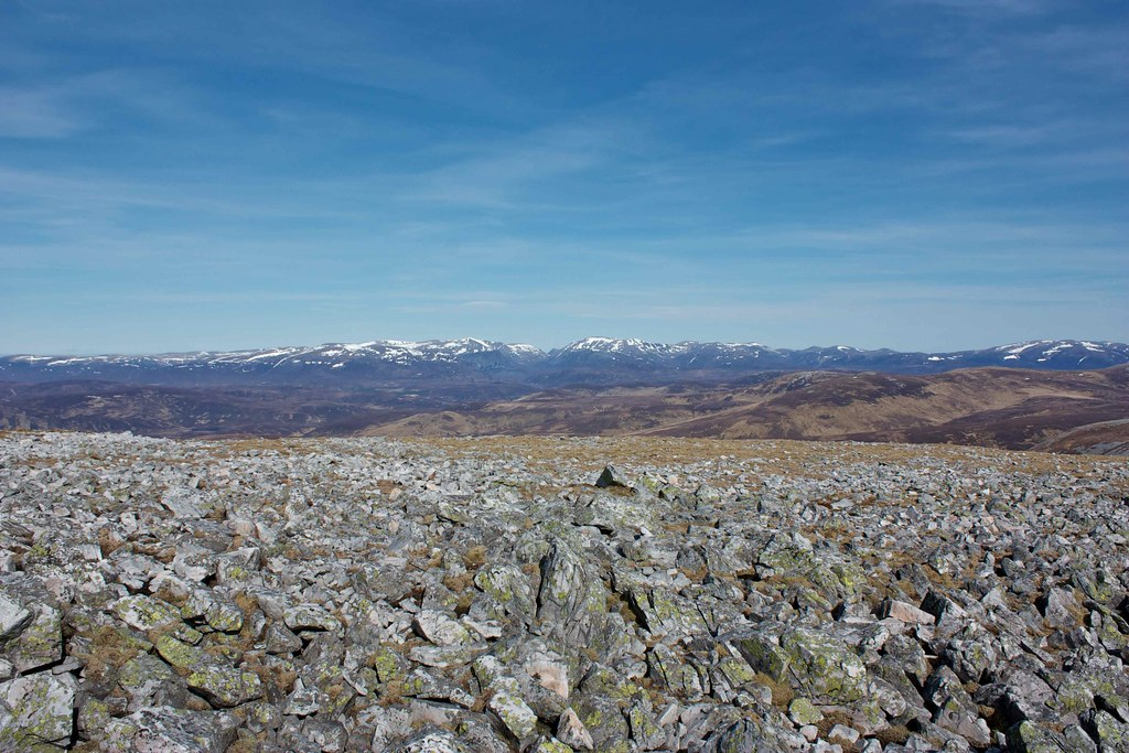 The Cairngorms from Carn an Righ