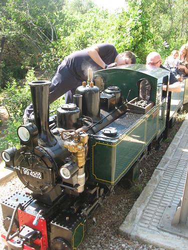 Locomotora tren Oreneta