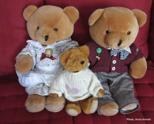 My teddy bears by Anna Amnell