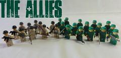 the allies (Jeffrey Mille) Tags: world 2 war gun lego creation ii ww2 jeffrey ww own allies mille moc brickarms