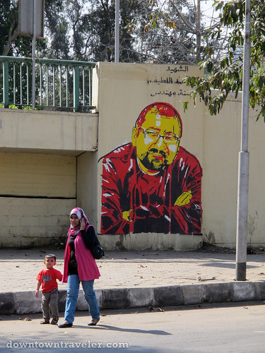 Street art in Cairo Egypt