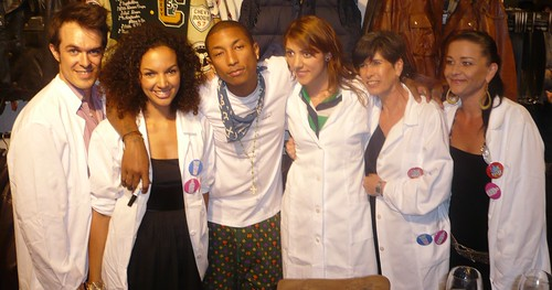 Pharrell Williams with KCRs in Zurich Switzerland_Aug2010_PHOTO CREDIT Patrick Mettraux