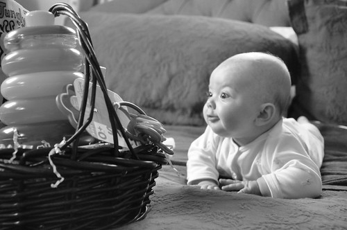EBD and her basket
