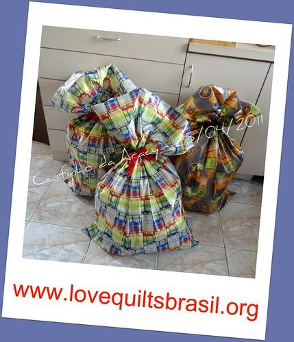 Love Quilts Brasil - pacotes prontos para entrega by Cantinho da Aracy
