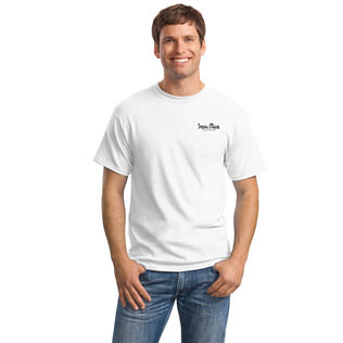 Promotional Items-Hanes® Heavyweight T-Shirt 4 Color (White Shirts) 53135 316 White-