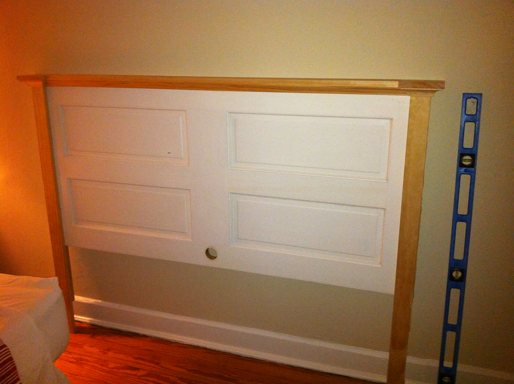 Opportunity Knocks: Transforming an Old Door into a Headboard ...