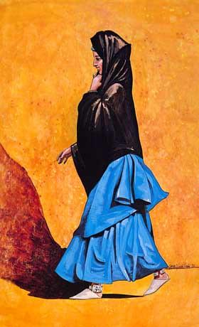 femme du Sahara