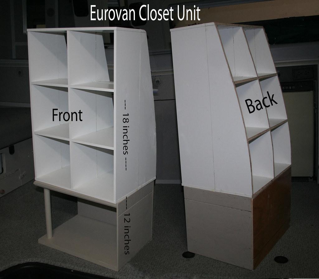 IMG 4604 Eurovan Closet Unit