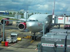 Virgin Atlantic Airways A340-642, G-VATL, named Miss Kitty (usf1fan2) Tags: airbus vs airbusa340 lhr a340 virginatlantic londonheathrowairport virginatlanticairways