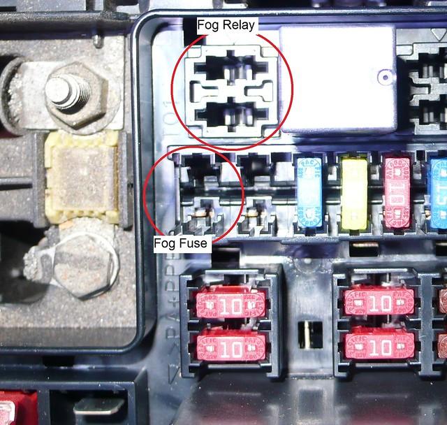 fog lights w oem switch connecting the relay and fuse club3g rh club3g com 2000 Mitsubishi Galant Fuse Box Diagram 2000 Eclipse Fuse Box Diagram