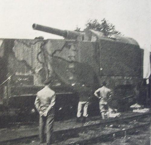 CAPI - Bateria de 190mm, em Bailleu.