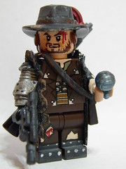 "Jake Bourne ""Gunslinger"" (~Amadgunslinger~) Tags: cowboy jake lego fig space mini bourne minifig custom gunslinger proto brickarms"