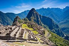 A cidade sagrada de Machu Picchu