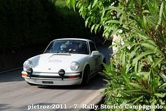 DSC_3989 - Porsche 2.2 S - 6-1975 - Rossi Andrea-Rossi Federica (pietroz) Tags: photo nikon foto photos rally 7 historic fotos vicenza isola storico campagnolo 7 vicentina pietroz d300s pietrozoccola gambugliano