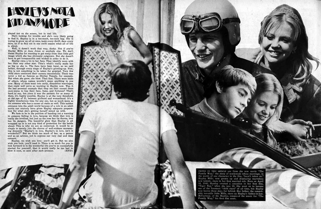 Teen Love Stories (Jan 1968) 3