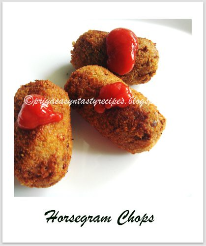 Horsegram chops