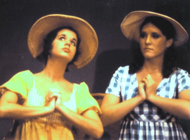 DarkEmeralds and her friend Shawna in the chorus of Pirates of Penzance in 1972