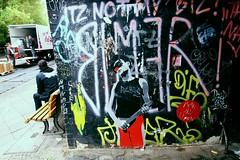 Street Art Berlin 2mai11 (44) (liborius) Tags: street urban streetart berlin art up illustration germany underground poster deutschland graffiti graphic kunst paste clown grafik can mimi spray illegal vandalism anti papier osten plakat ost dose kleister schmiererei strasenkunst aufgeklebt sprh gentrifizierung