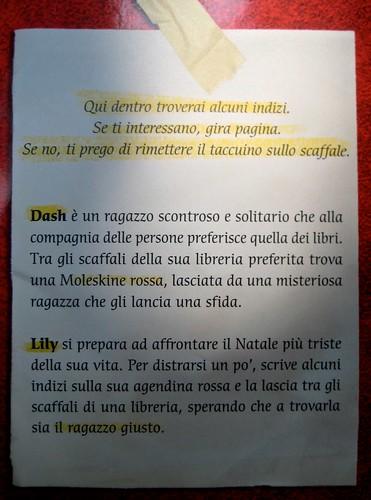 Come si scrive ti amo, di Rachel Cohn & David Levithan, Mondadori 2011; Art director: Fernando Ambrosi, graphic designer: Anna Iacaccia; q. di cop. (part.), 1