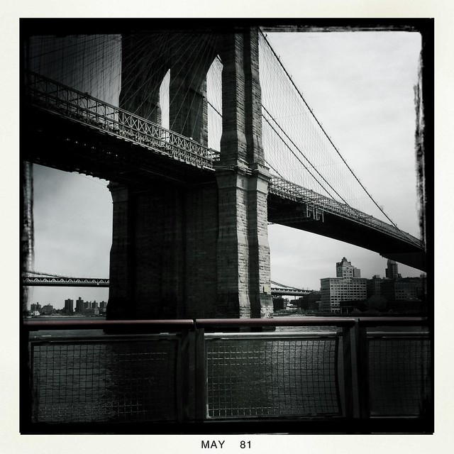 Brooklyn Bridge, from near Dover St.
