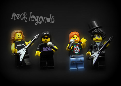 Custom minifig rock legends