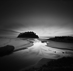 dusk (thespeak) Tags: longexposure water oregon square coast pacific pinhole zero2000 neskowin zeroimage autaut