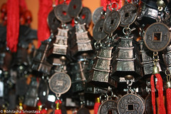 good luck charms (Abhilasha Srivastava) Tags: color bells canon eos rebel chimes xti 400d