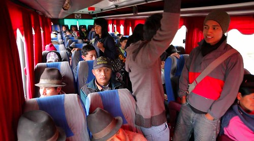Video Still: On a bus to Riobamba.