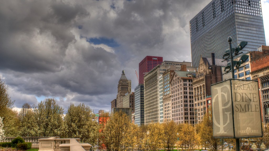 The Magnificent Mile, Chicago (HDR)