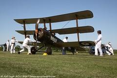 Shuttleworth Collection Sopwith Triplane (Rob_Leigh) Tags: flying aviation airshow ww1 greatwar rotary sopwith robbo airdisplay triplane oldwarden robleigh startupshuttleworthcollection