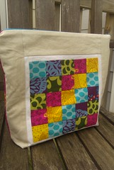 XL Cosmetics Bag (Front) (KMQuilts) Tags: