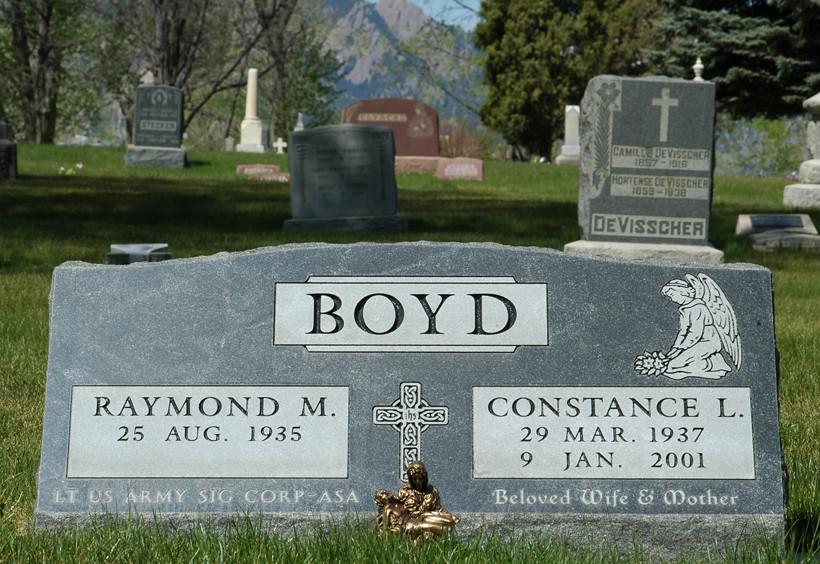 Raymond and Constance Boyd